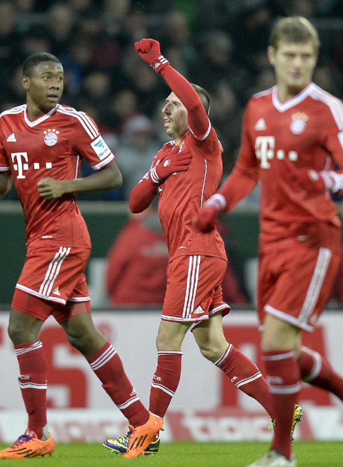 Bayern Too Good for Sorry Bremen