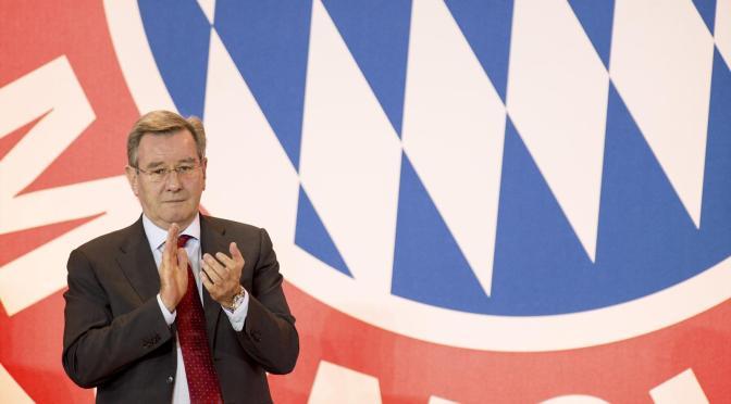 Meet the new FC Bayern München President; Karl Hopfner