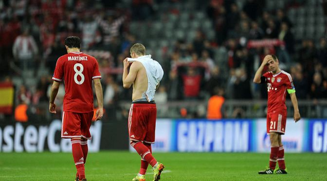 Bayern fail to defend Champions League title!