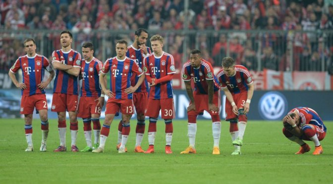 Unlucky Bayern exit DFB Pokal in a penalty shootout
