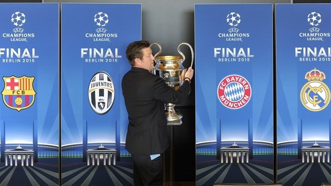 Bayern & Barcelona meet again in the Champions League semi finals