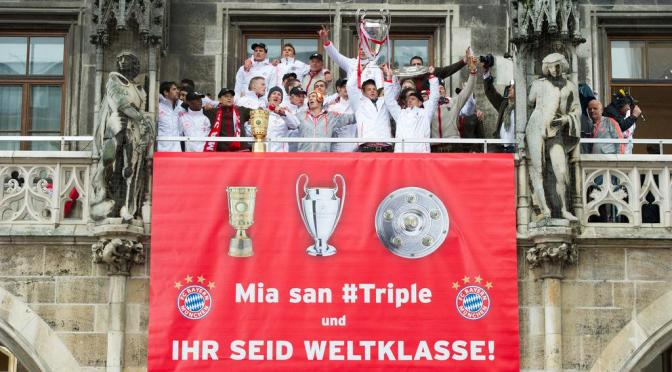 Bayern chase second treble dream