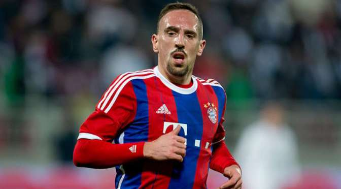 Ribéry likely to miss Porto Champions League tie