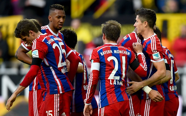 Bayern's Lewandowski on target in 1-0 win at Dortmund