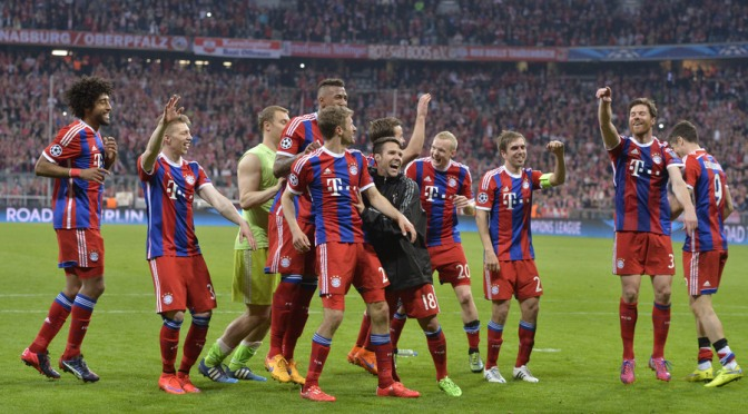 Bayern crush Porto 6-1 to reach Champions League semi-finals