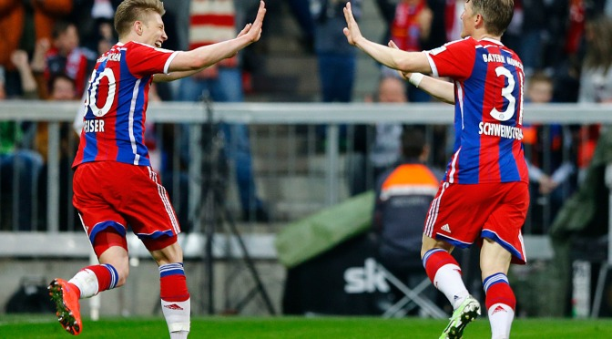 Bayern close on their 25th Bundesliga title after beating Hertha