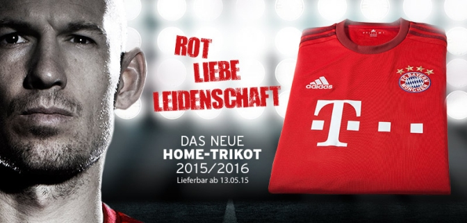 FC Bayern unveil their new 2015/16 home kit