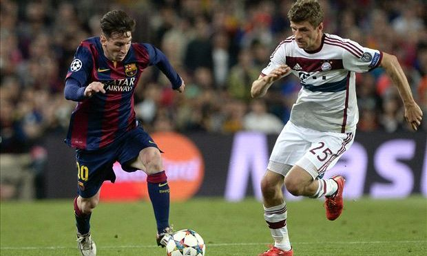 Bayern concede 3 late goals against Barcelona as hopes of Champions League final melt away