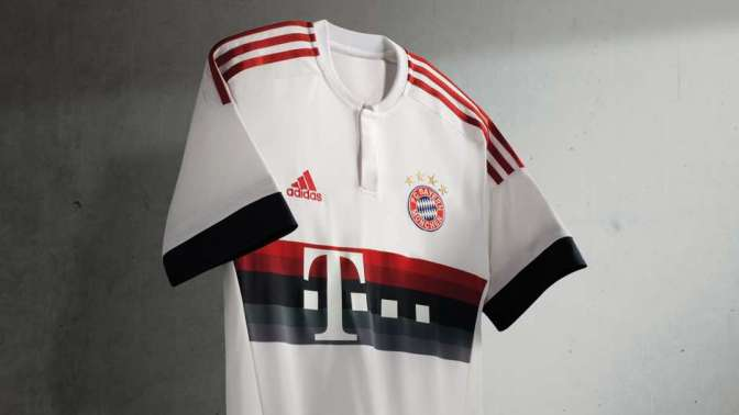 FC Bayern unveil the new away kit for the 2015/16 season