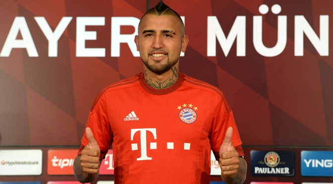 Vidal completes $44 million move from Juve to Bayern