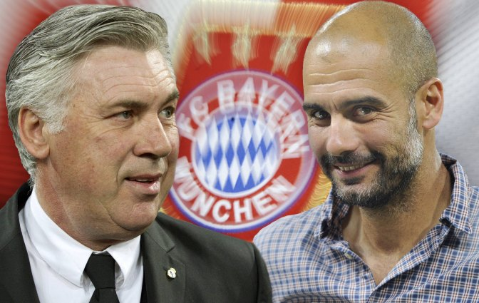 Ancelotti to replace Guardiola at Bayern after season end